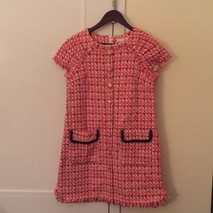 Dresses & Skirts - NWOT red/pink tweed dress size small